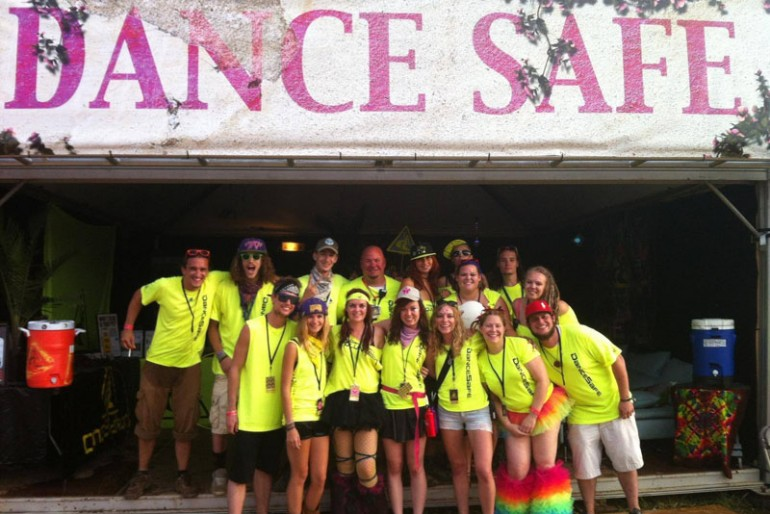 DanceSafe at TomorrowWorld