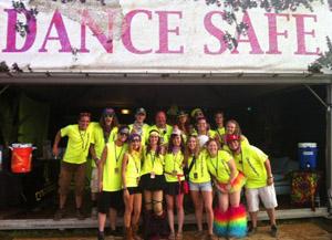 DanceSafe had a major presence at TomorrowWorld 2013