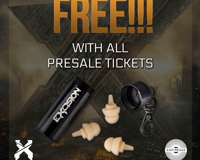 Excision is Giving Away Free Earplugs!