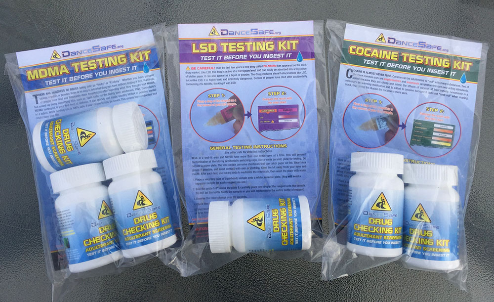 Testing Kit Instructions | DanceSafe