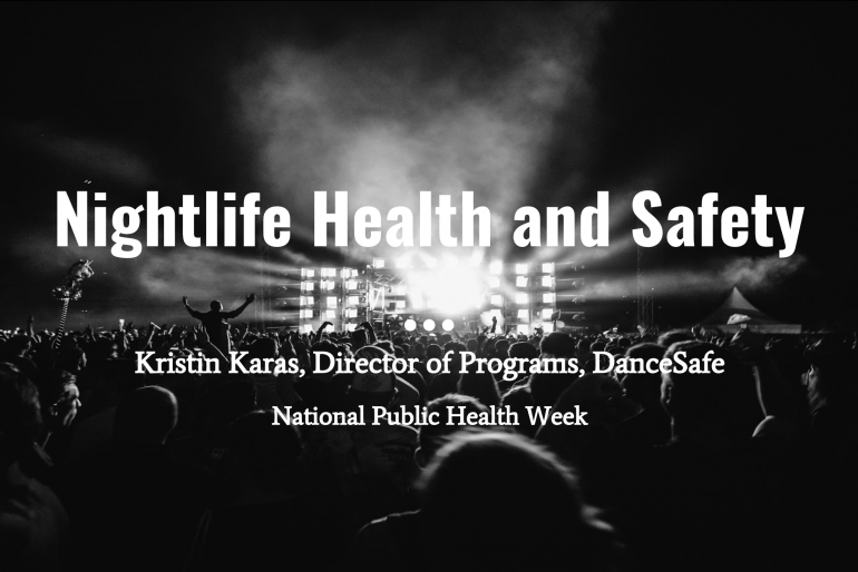 DanceSafe's Kristin Karas Invited to Speak at National Public Health Week