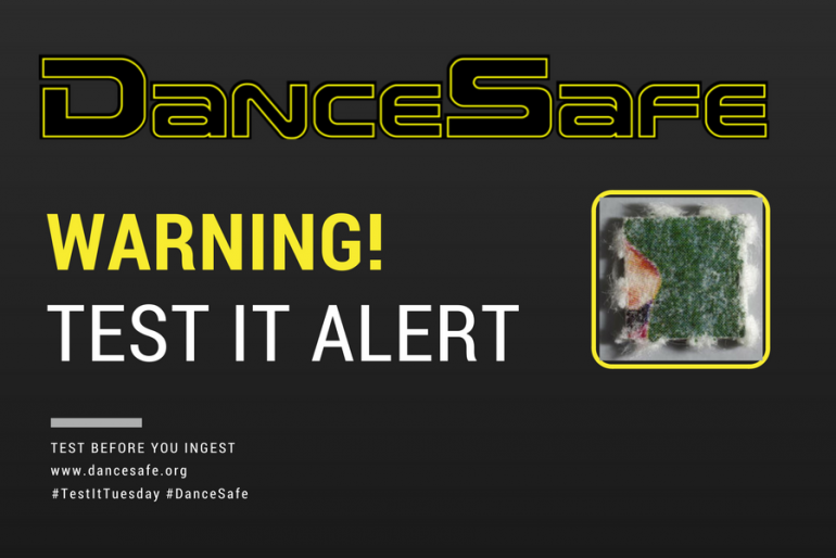 08/29/2017 #TestItTuesday Alert: DOC Sold as LSD on Alice in Wonderland Blotter