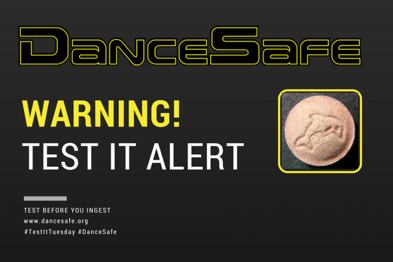09/19/2017 #TestItTuesday Alert: Domestically Sourced 'Dolphin' Tablet Contains N-Ethylpentylone and Caffeine