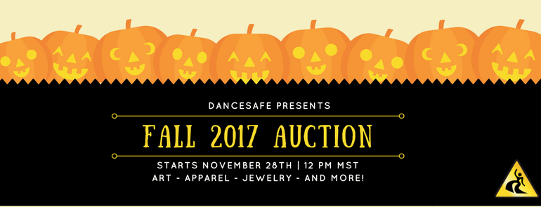 Help DanceSafe stay on-beat with our 2017 Fall Auction!