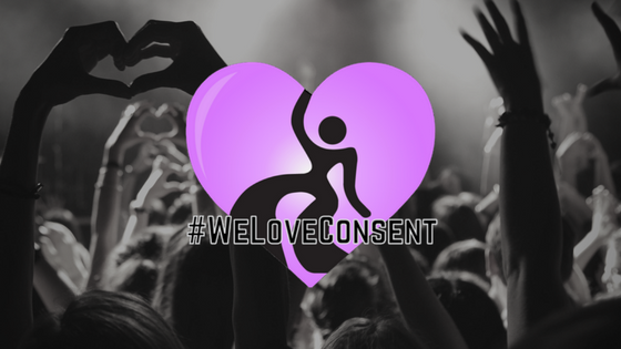 DanceSafe Announces Launch of #WeLoveConsent Program