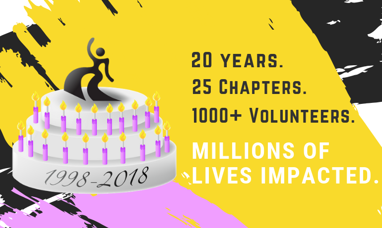 Support Harm Reduction and Donate Today for DanceSafe's 20th Birthday!