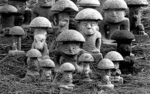 Maya-mushroom-stones