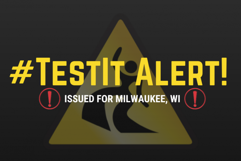 #TestIt Alert: Baggie of white powder sold in Milwaukee, WI as cocaine but actually contains fentanyl, amphetamine, and levamisole