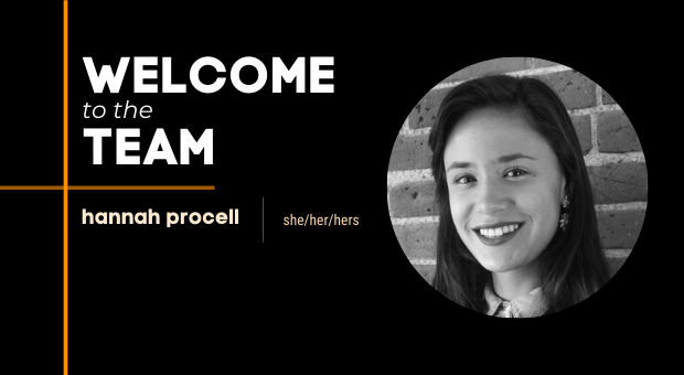 Welcome to the Team: Hannah Procell